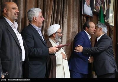 مراسم تودیع و معارفه رئیس دانشگاه آزاد استان تهران
