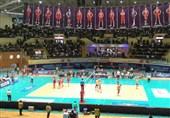 تیم ملی والیبال ایران به مسابقات قهرمانی جهان صعود کرد/ قزاقستان هم حریف بلندقامتان ایرانی نشد + تصاویر