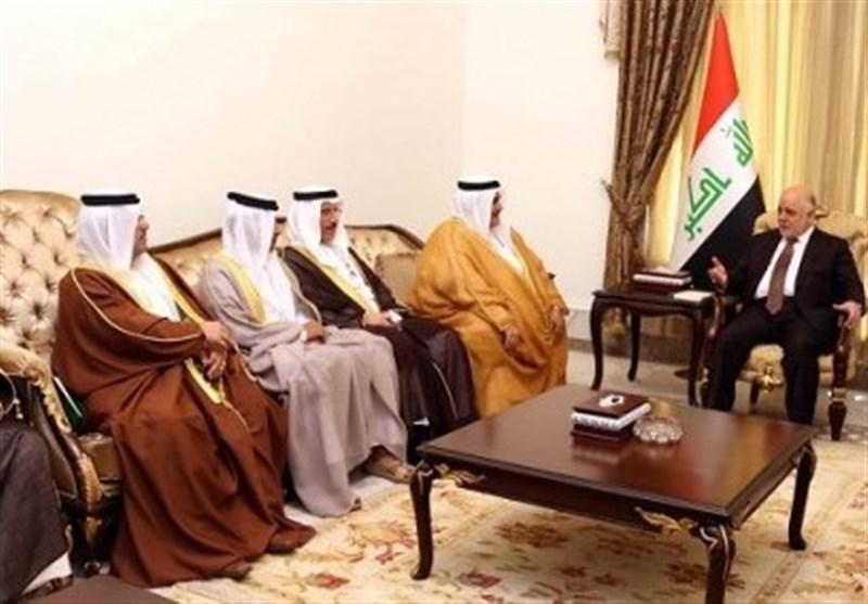 العبادی و وزیر خارجه بحرین