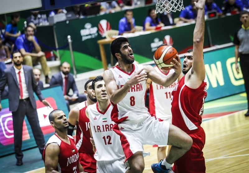 Iran Beats Jordan at FIBA Asia Cup