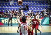 تیم ملی بسکتبال ایران مقابل اردن پیروز شد