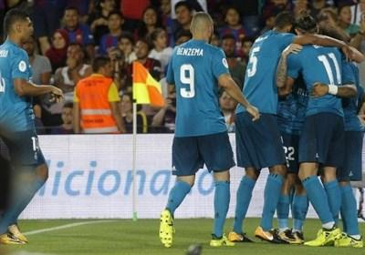 رئال مادرید در شب اخراج رونالدو نیمی از راه قهرمانی را پیمود