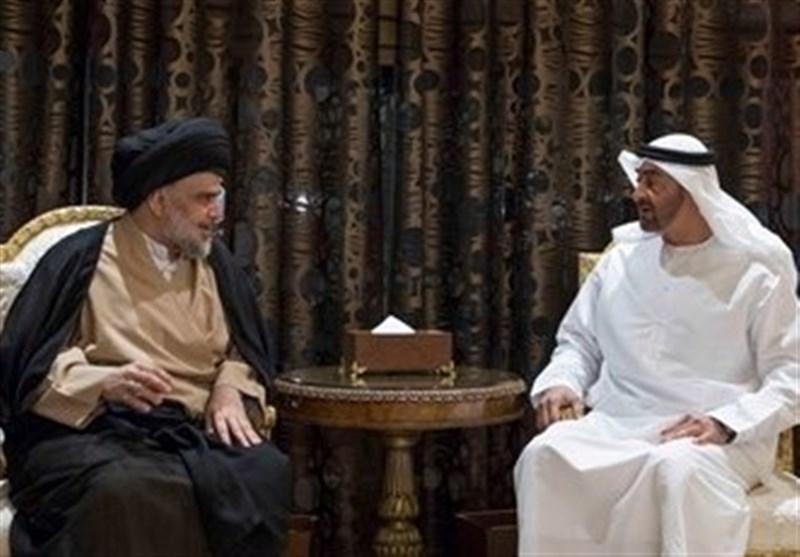مقتدی صدر با ولیعهد ابوظبی دیدار کرد