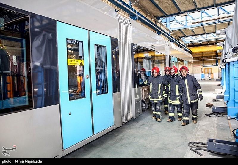 مشهد  3 ایستگاه قطارشهری پس از برطرف شدن نقص بازگشایی شد