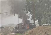 "صاروخیة الجیش الیمنی تواصل تدک موقع ""ذو رعین"" السعودی بنجران"