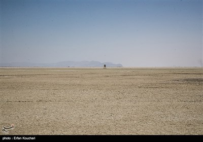 تابلوی نشانگر محدوده پارک ملی دریاچه ارومیه