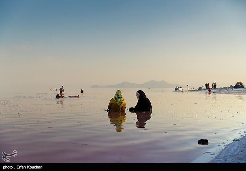 عمق آب دریاچه ارومیه 80 سانتیمتر شد