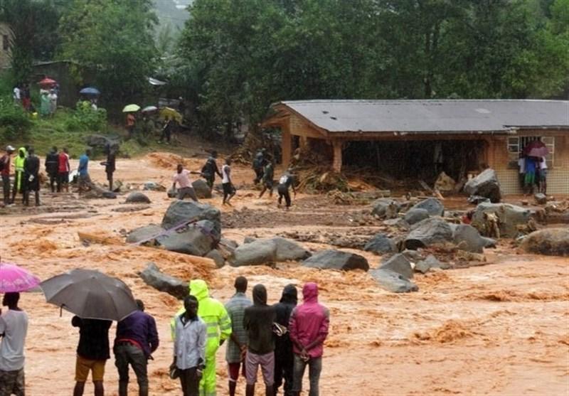 سیرالیون میں تباہ کن طوفان سے ہلاکتوں کی تعداد 312 ہوگئی