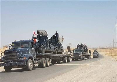 جانب من تحشید القوات العراقیة قرب تلعفر