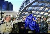 آیین رونمایی از سردیس شهید مدافع حرم «محسن قوطاسلو»