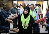 فیلم/ برگزاری مراسم استقبال از نخستین حجاج ایرانی در مدینه