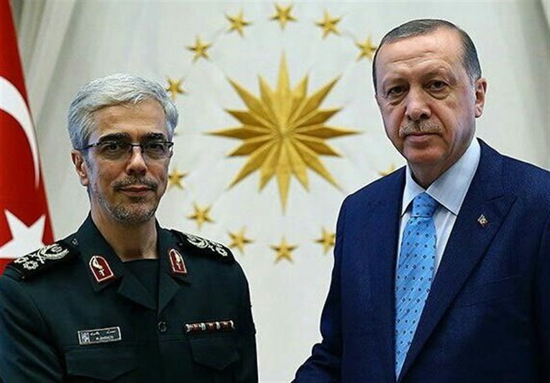 Top Iranian General Meets Turkish President in Ankara