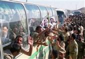 بازگشت آزادگان به ایران