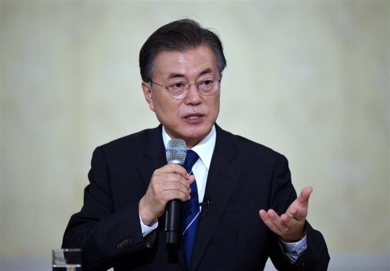 Moon Calls for International Support for North Korea-US Dialogue