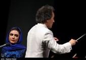 داستان گویی لیندا کیانی بازیگر سینما و تلویزیون در اجرای ارکستر سمفونیک تهران به رهبری شهرداد روحانی