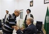 دیدار پدر کمال کورسل با آیت الله سعیدی