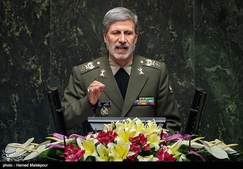 """توضیحات """"امیر حاتمی"""" درباره توان دفاعی کشور در مجلس"""