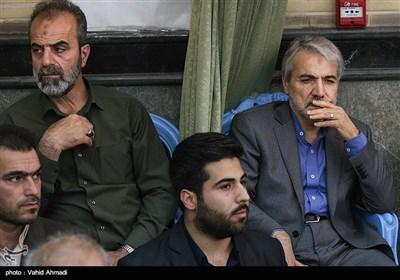 محمد باقر نوبخت در مراسم بزرگداشت شهید مدافع حرم محسن حججی