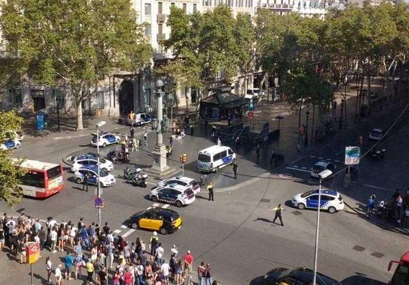 داعش یعلن مسئولیته عن حادث الدهس فى برشلونة