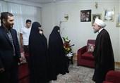 روحانی در دیدار با خانواده شهیدان اصغری ترکانی