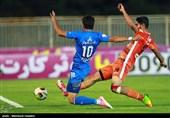 لیگ برتر فوتبال| سایپا و استقلال با تساوی به رختکن رفتند