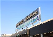 معرض دمشق الدولی یواصل برنامجه بشکل طبیعی رغم استهدفه بقذیفة إرهابیة