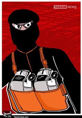 کاریکاتور/ ماشین تروریسم به اسپانیا رسید!