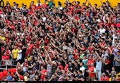 شعارهای تند هواداران سپیدرود علیه مسئولان ورزشی استان گیلان