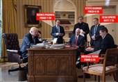 اخراجیهای ترامپ از تیم کاخ سفید + عکس