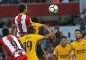 اتلتیکو مادرید 10 نفره از شکست گریخت