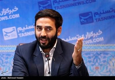 نشست خبری غلامرضا حسن پور مسئول بسیج اصناف کشور در خبرگزاری تسنیم