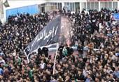 شهرستان شوش در روز اربعین حسینی غرق در ماتم شد