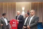 دیدار مدیرعامل باشگاه تراکتورسازی با سفیر آلمان