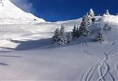 برف روی ارتفاعات 10 استان کشور مینشیند