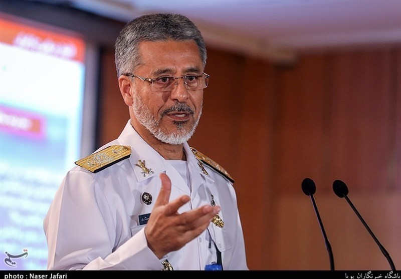Iran's Navy Commander Holds Military Talks in Italy