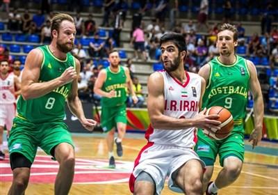 رقابتهای بسکتبال جام آسیا 2017 / ایران - استرالیا