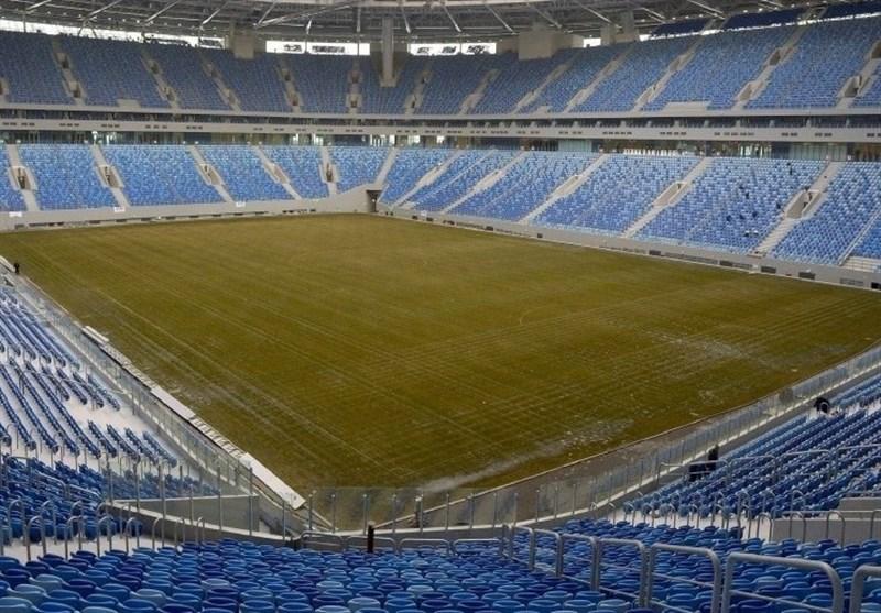 گزارش خبرنگار اعزامی تسنیم از روسیه| ورزشگاه کرستوفسکی یک روز مانده به دیدار ایران - مراکش + تصاویر