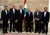 جابری انصاری یبحث مع الرئیس اللبنانی التعاون الثنائی