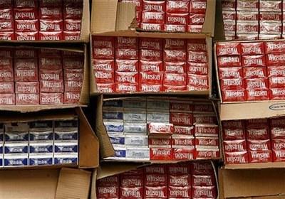 کشف عجیب محموله قاچاق سیگار از ایران به ترکیه
