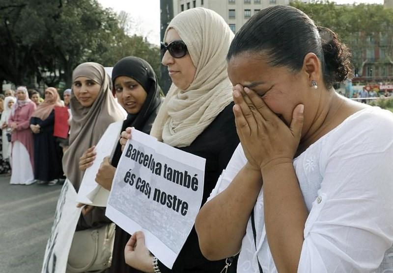 بارسلونا حملے کے متاثرین کے ساتھ مسلمانوں کی ہمدردیاں + تصاویر