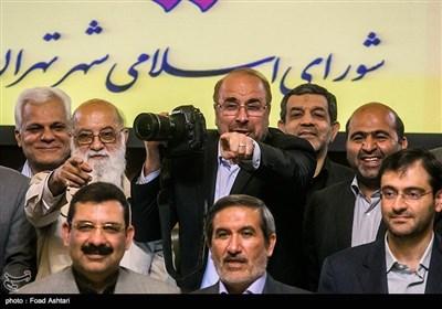 آخرین جلسه شورای شهر چهارم با حضور شهردار تهران