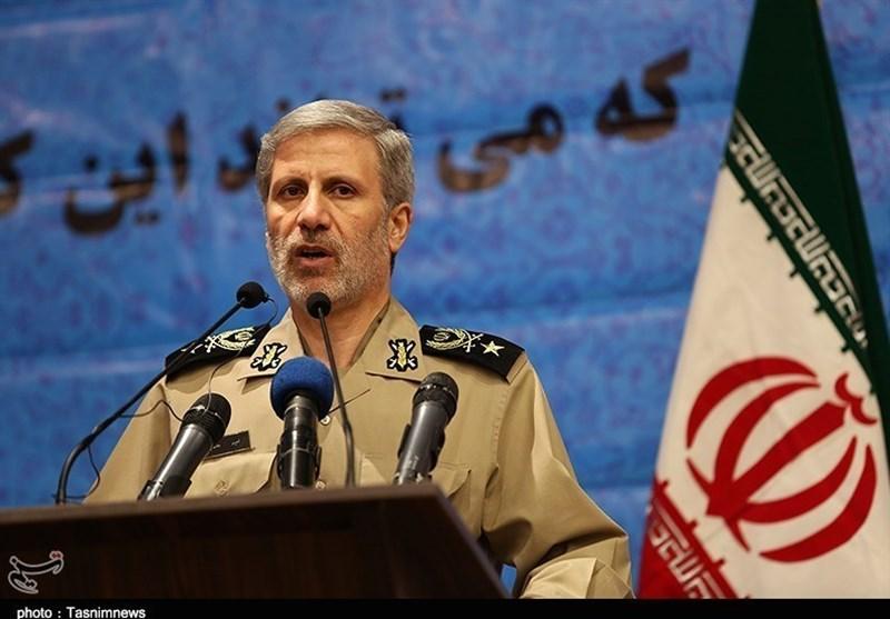 Enemy Bent on Undermining Iran's Defense Power: Minister