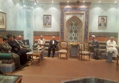 دیدار طاهری با سفیر عمان