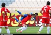 لیگ برتر فوتبال| تساوی استقلال و پدیده در نیمه اول