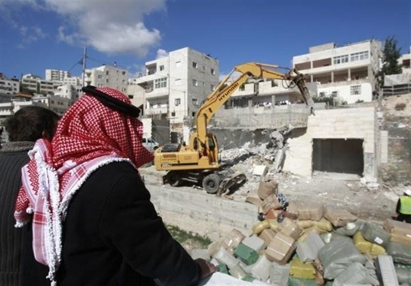 تخریب منازل فلسطینی ها
