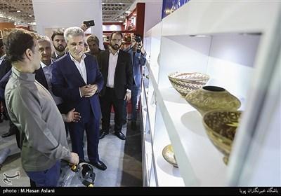 إفتتاح معرض الصناعات الیدویة فی دورته الـ28 بطهران