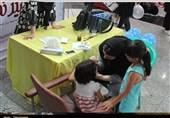 """نمایشگاه هفته ملی کودک با عنوان """"هر کودک نشانی خداست"""" در اردبیل گشایش یافت"""