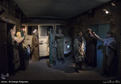 "ایران کے شہر ہمدان کا ""دفاع مقدس"" میوزیم"