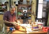 ساخت تنبک و کمانچههای 200 ساله + تصویر