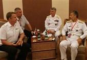 دریادار سیاری با هیئت نیروی دریایی روسیه دیدار کرد